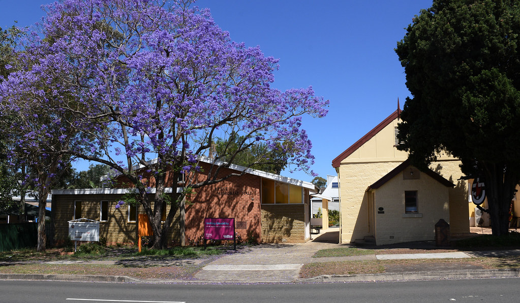 Uniting Church, Reeve Memorial Hall, Campbelltown, Sydney, NSW.