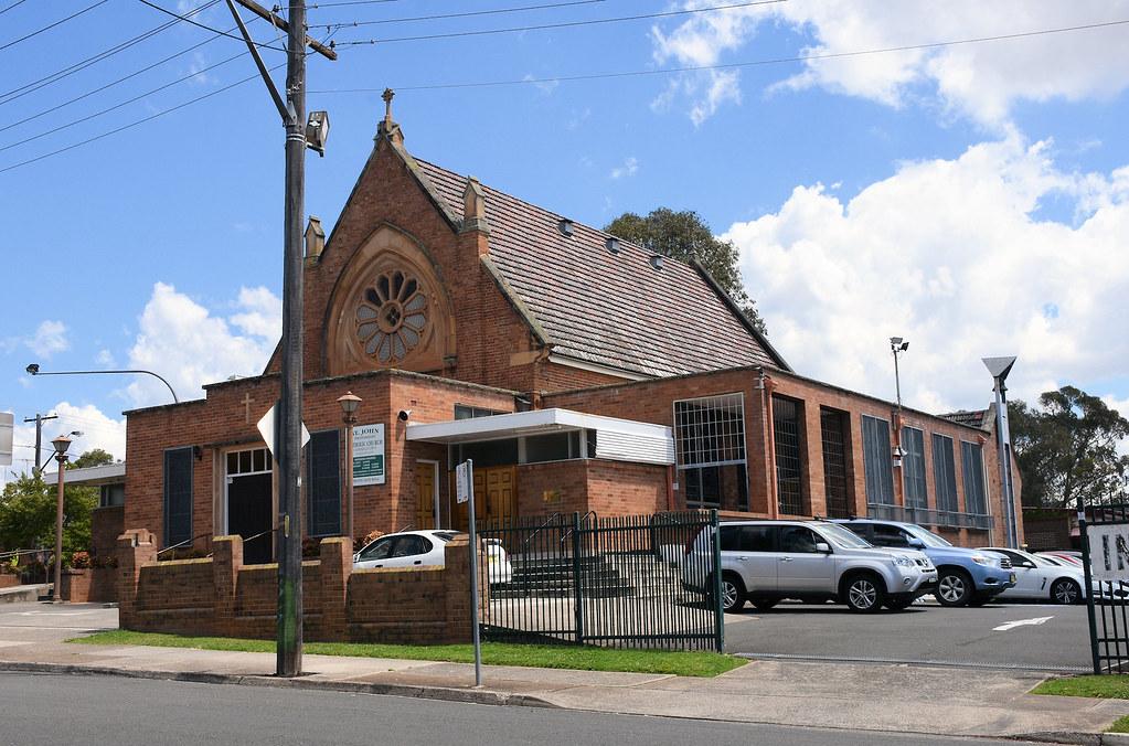 St John's Catholic Church, Campbelltown, Sydney, NSW.