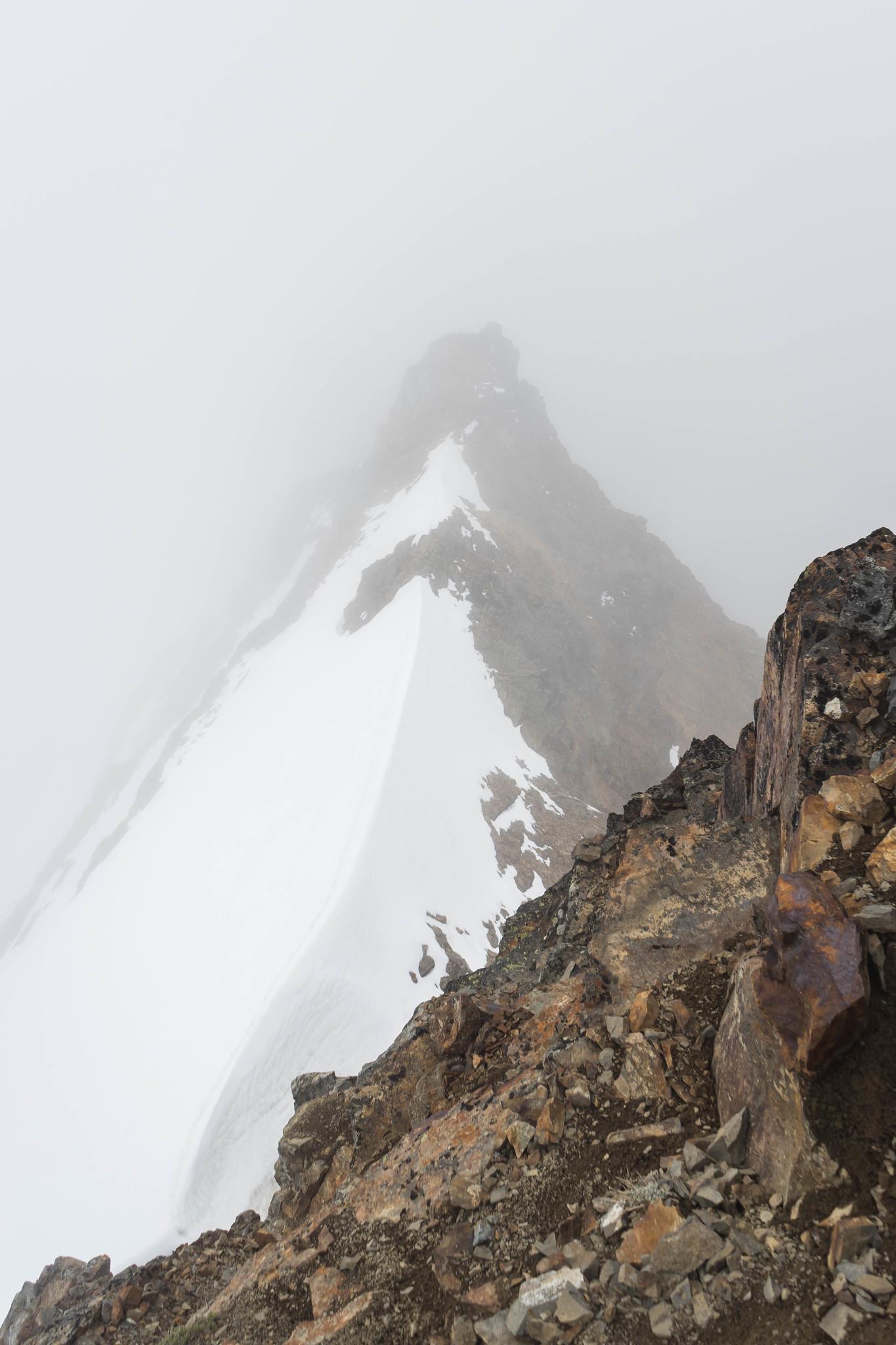 Sentinel Peak east ridge