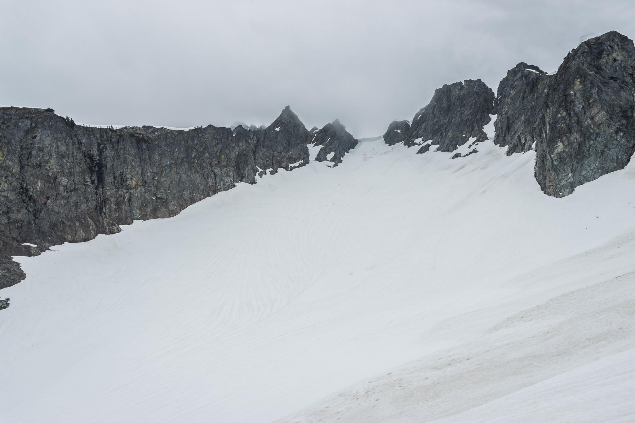 Cache Glacier and Cache Col