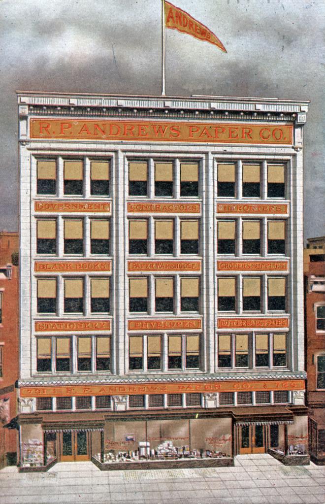 R.P. Andrews Paper Company (c. 1913)