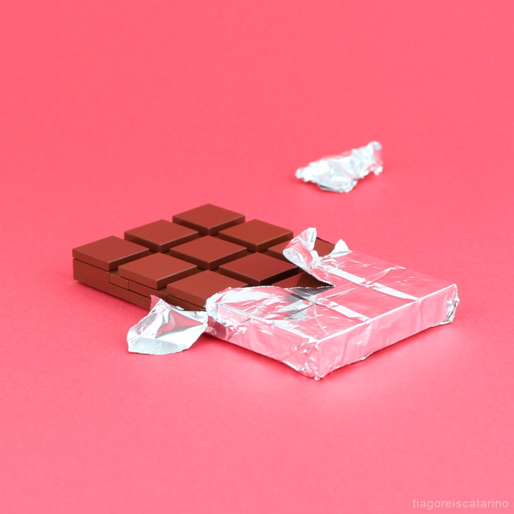 LEGO Chocolate Bar