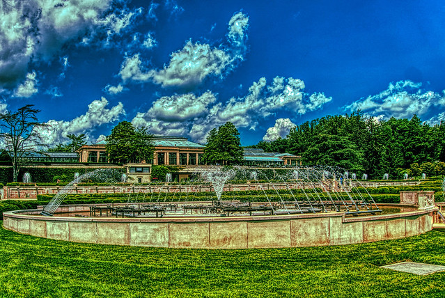 Fountains at Longwood
