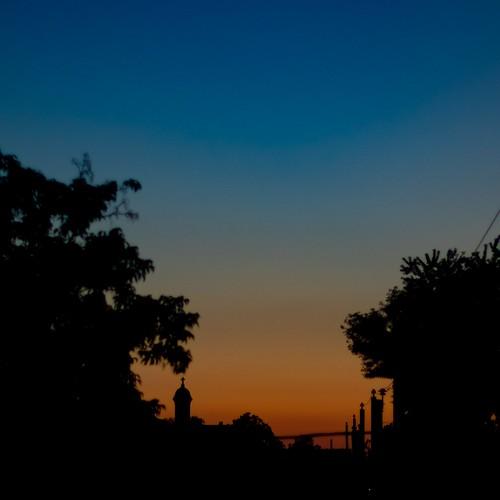 sunset sky cityscape dusk montreal mileend pentaxk3ii pentax 50mm smc pentaxfa f14 smcpentaxfa50mmf14