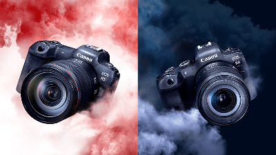 Shoot high-resolution, professional-level still images and HDR PQ HEIF 10-bit video with the Canon EOS R5 and EOS R6.
