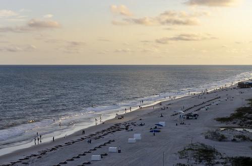 gulf shores alabama ocean water sea view beach landscape the south sugar sand