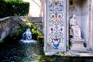 Gardens in Vatican City ヴァティカン市国の庭園