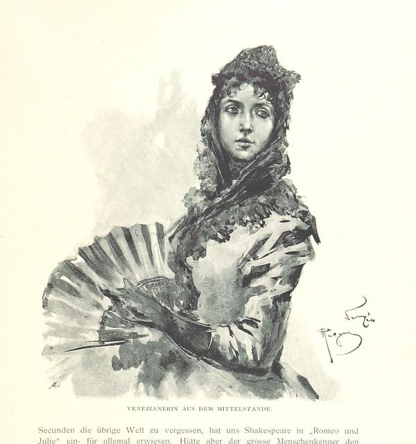 """British Library digitised image from page 81 of """"Venezia. Beschrieben von H. Perl. Mit Original-Zeichnungen von Ettore Tito ... Herausgegeben von E. M. Engel"""""""