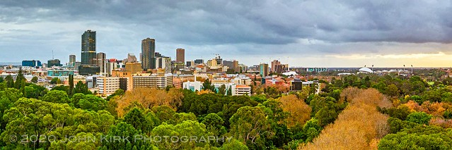 Panoramic View of Adelaide in Autumn (2020)