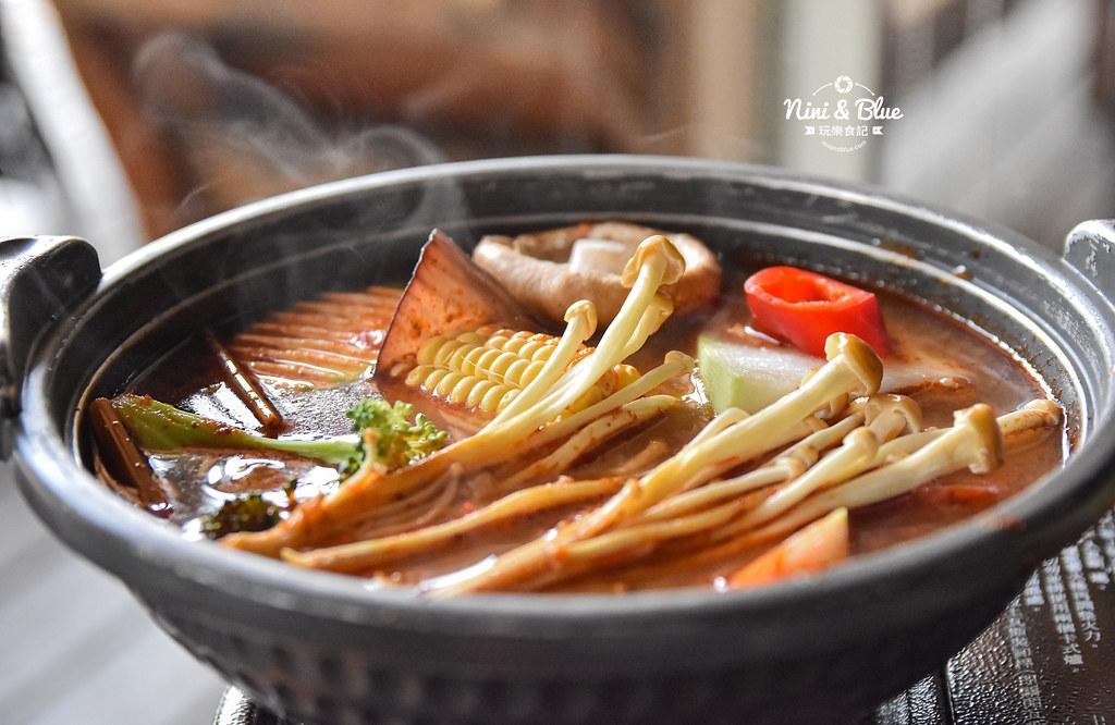熱浪島 台中素食蔬食 南洋 叻沙麵 沙坑34