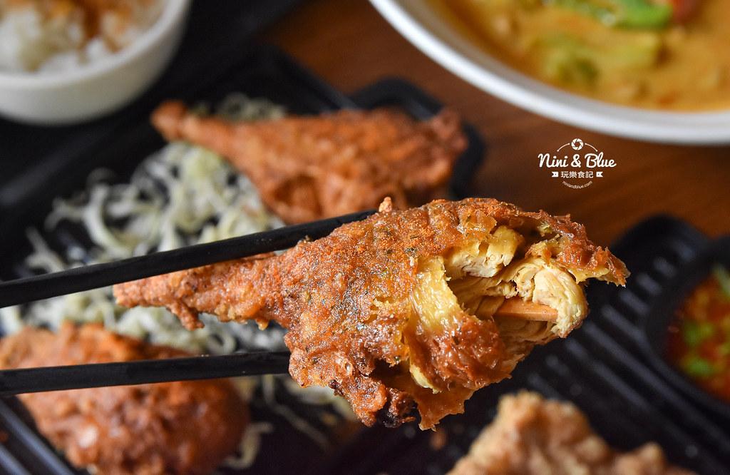 熱浪島 台中素食蔬食 南洋 叻沙麵 沙坑32