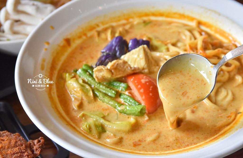 熱浪島 台中素食蔬食 南洋 叻沙麵 沙坑30