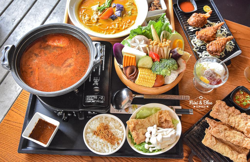 熱浪島 台中素食蔬食 南洋 叻沙麵 沙坑21