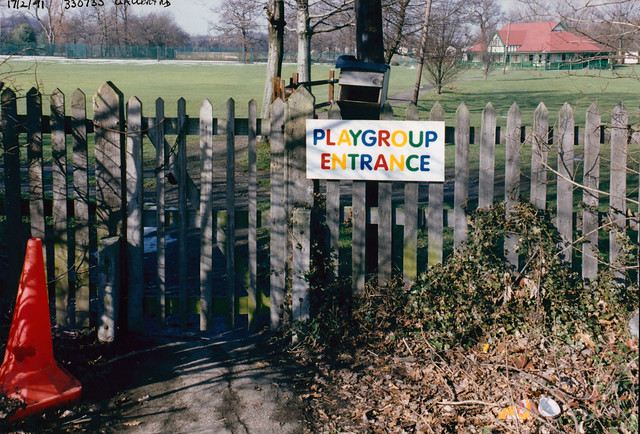 Park Gate, Playgroup, Gallery Rd, Dulwich, 1991 TQ3373-001