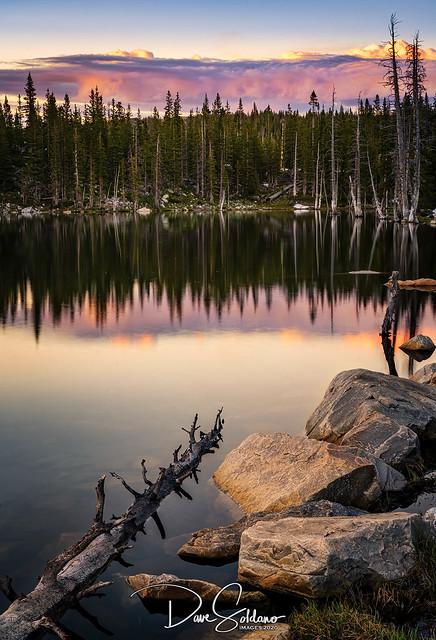 Mirror Lake at Sunset