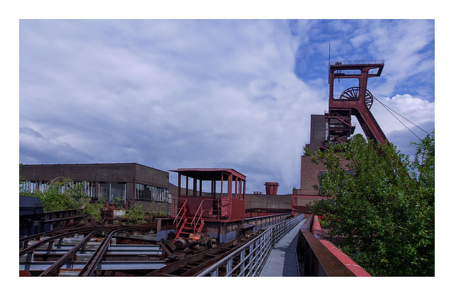 Coal logistics (Zeche zollverein)