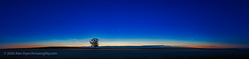 Comet NEOWISE at Dawn Panorama (July 9, 2020) | by Amazing Sky Photography