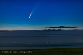 Comet NEOWISE Above the Clouds (July 9, 2020) | by Amazing Sky Photography