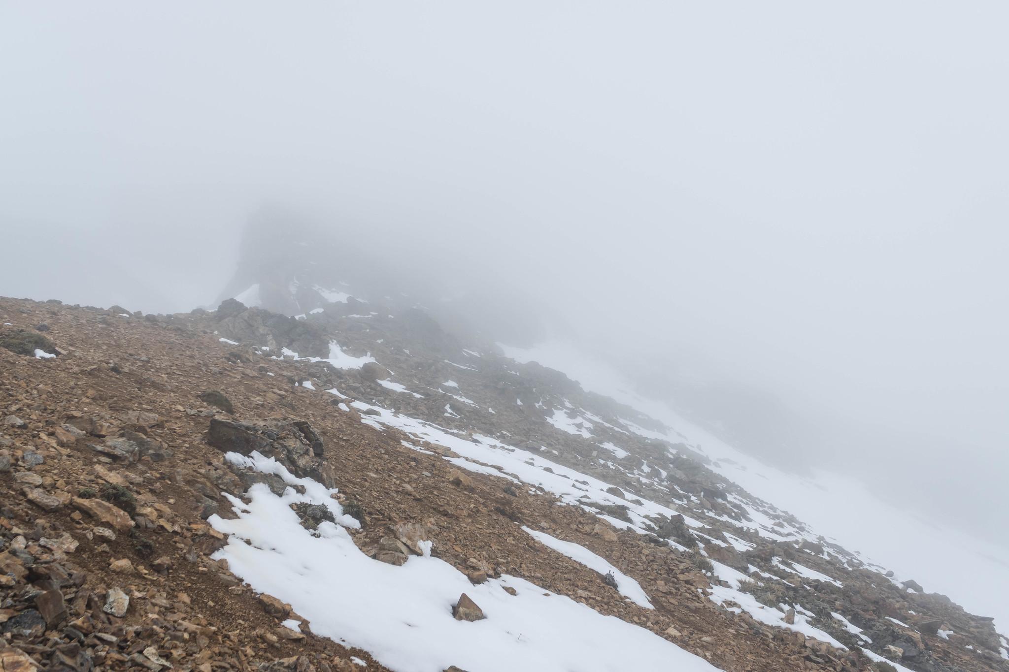 Sentinel Peak's west ridge