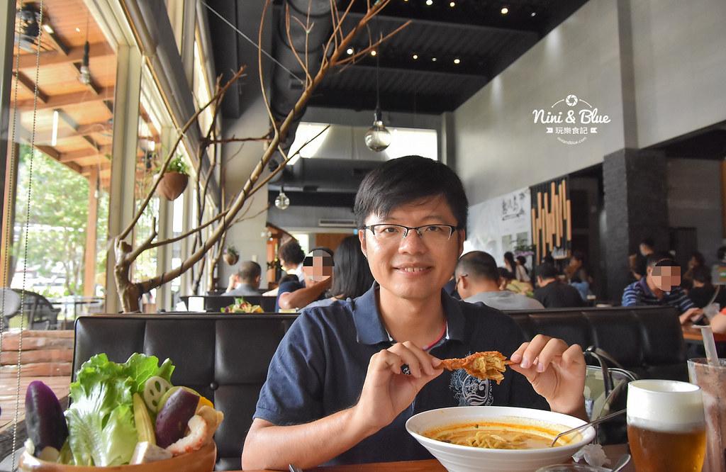 熱浪島 台中素食蔬食 南洋 叻沙麵 沙坑33