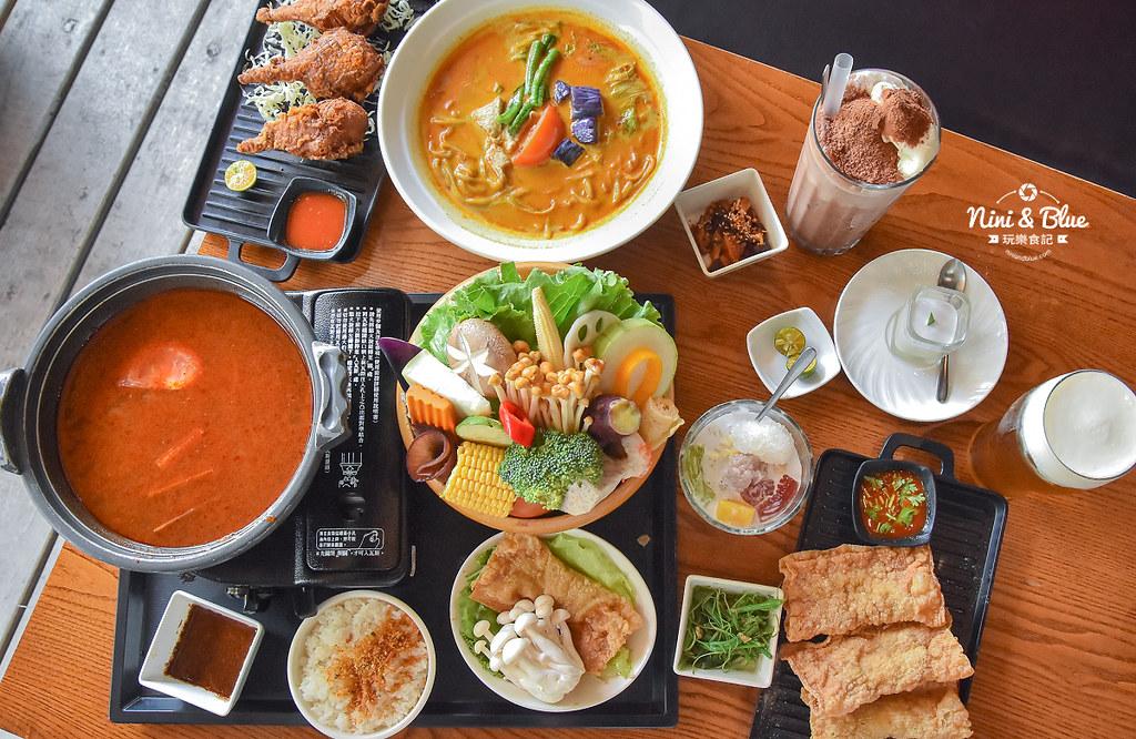 熱浪島 台中素食蔬食 南洋 叻沙麵 沙坑27