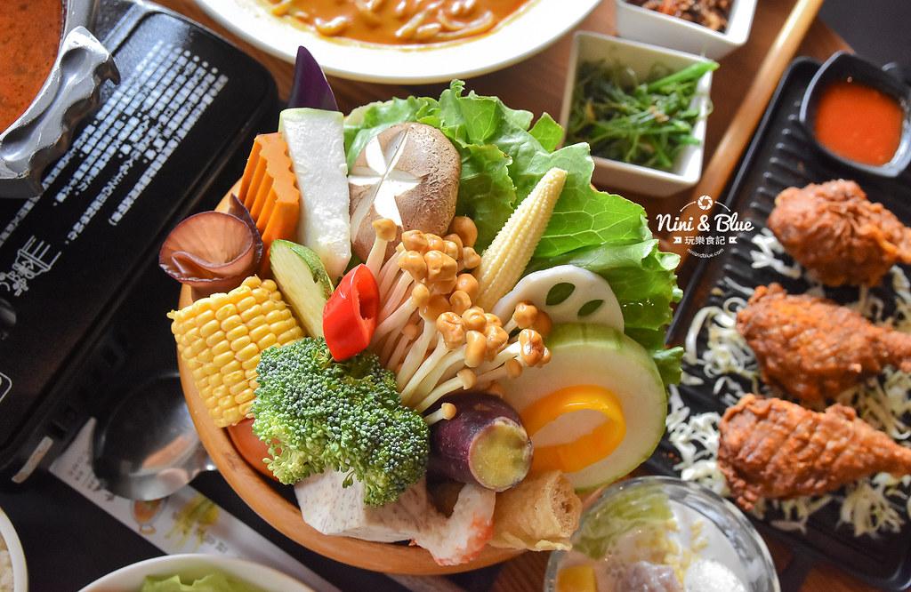 熱浪島 台中素食蔬食 南洋 叻沙麵 沙坑22