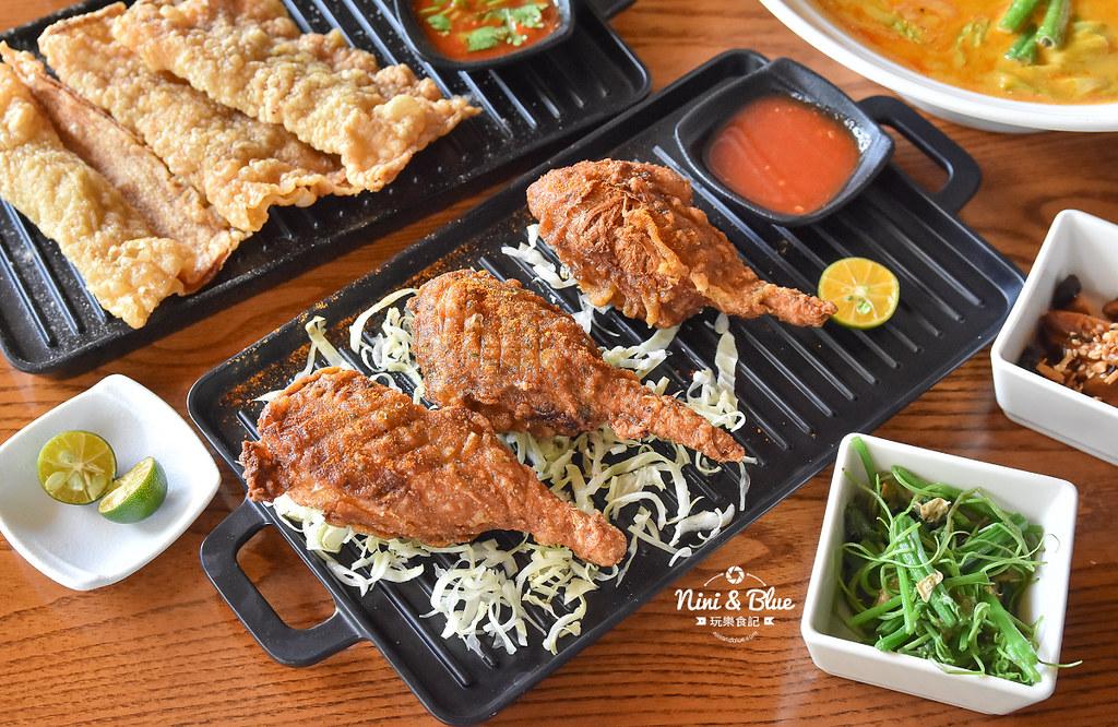 熱浪島 台中素食蔬食 南洋 叻沙麵 沙坑13