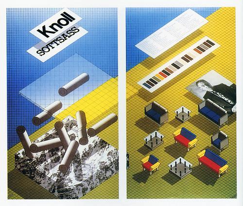 Knoll-Sottsass-poster-1982