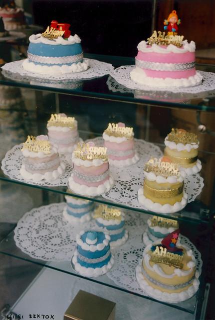 Cakes, Shop window, Crystal Palace, 1991 TQ3370-001