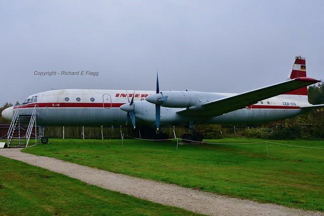 DDR-STH : Ilyushin Il-18V at Hermeskeil.