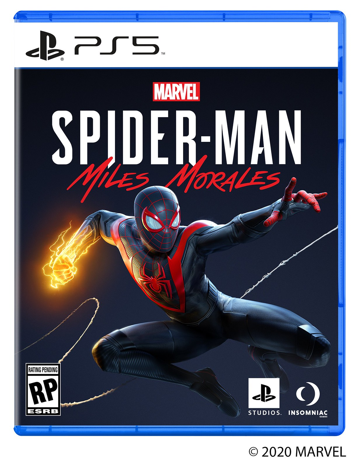 Spider-Man Miles Morales - PS5 (Box art)