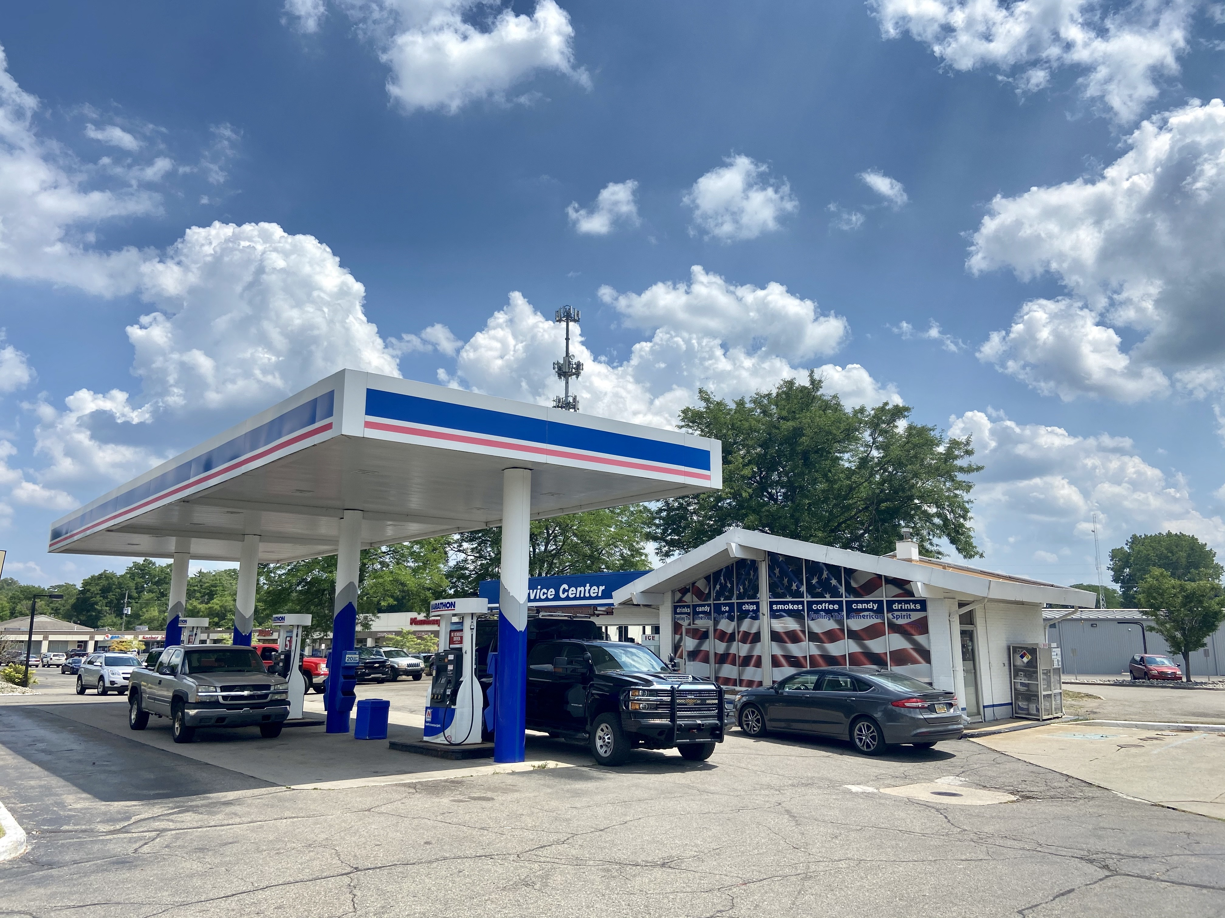 Haslett Marathon Gas Station Demolition and Reconstruction Approved