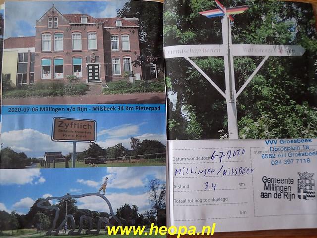 2020-07-06 Millingen a d Rijn     naar  Milsbeek     34 km   (182)