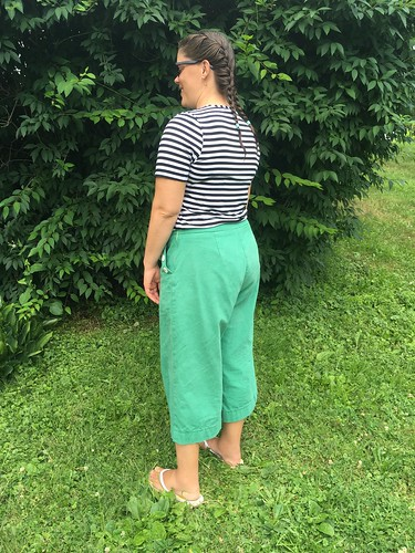 Simplicity 8391 Sailor-Inspired Shorts and Pants | by patternandbranch