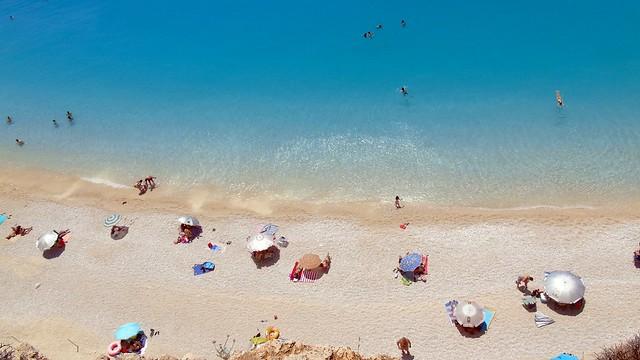 Παραλία Πόρτο Κατσίκι Λευκάδας (27 Ιούνη 2020)