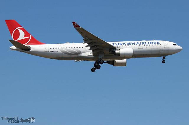 Airbus A330 -203 TURKISH AIRLINES TC-JNB 704 Francfort juin 2020