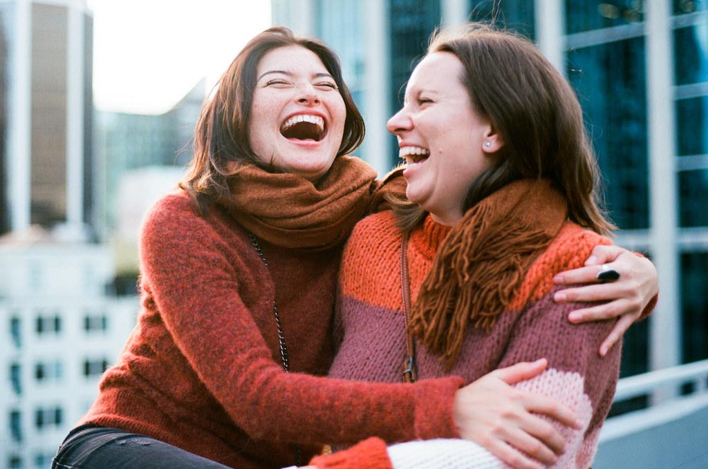 Friends by Tanya Perova - Yana and Katherine 8
