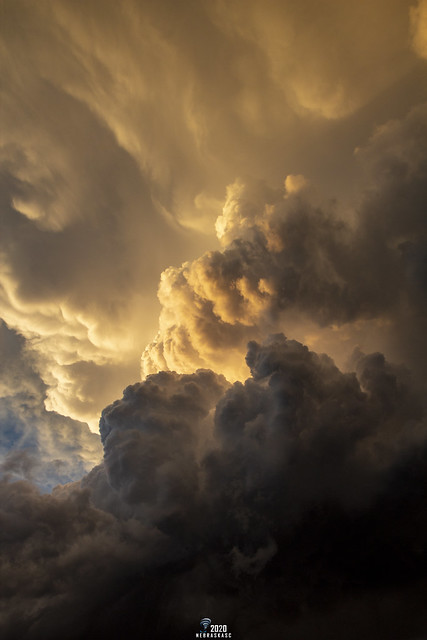 062020 - Dying LP Thunderstorm at Sunset 063