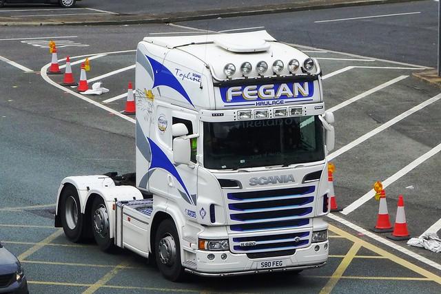 Fegan Haulage Scania R620 Topline S80 FEG