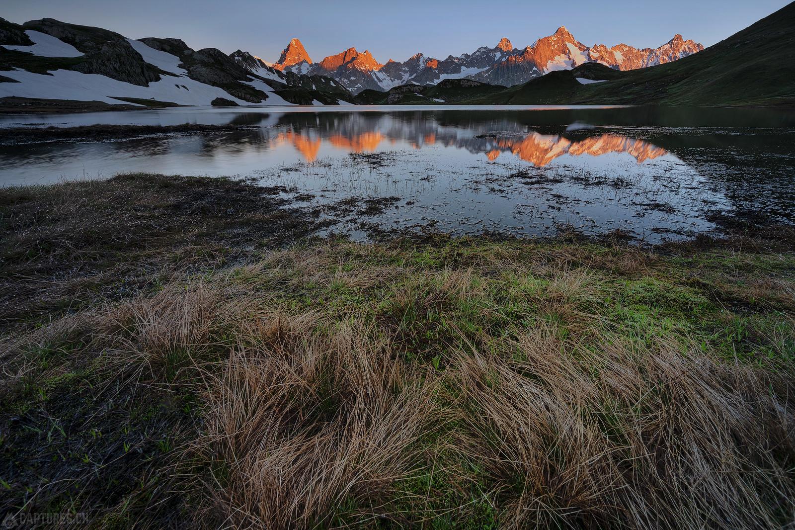 Alpenglow - Lacs de Fenetre