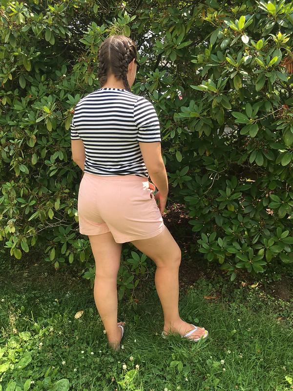 Simplicity 8391 Sailor-Inspired Shorts and Pants