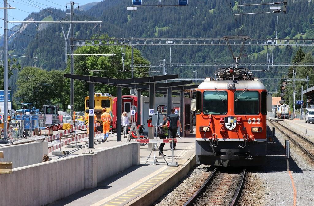 2020-06-23, RhB, Klosters Platz