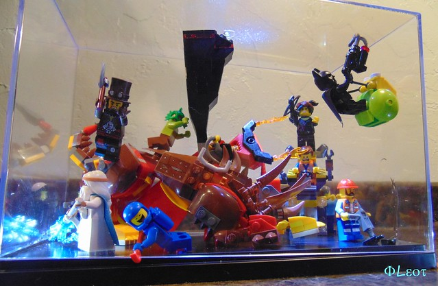 Lego Movie Display