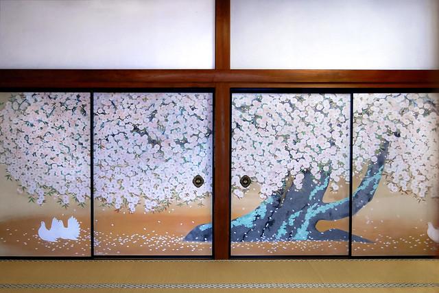 Sliding doors at Koyasan