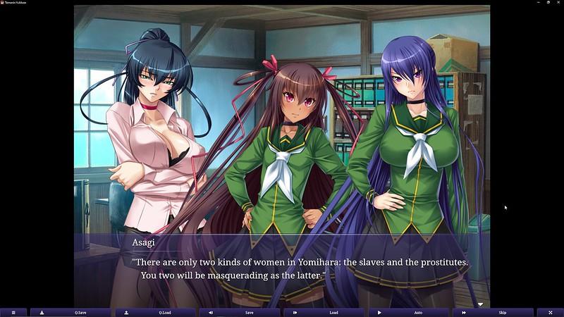 Taimanin Yukikaze - maktab kiyimlari