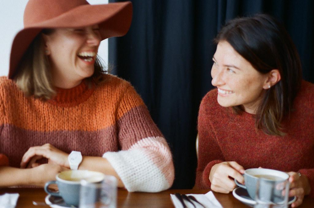 Friends by Tanya Perova - Yana and Katherine