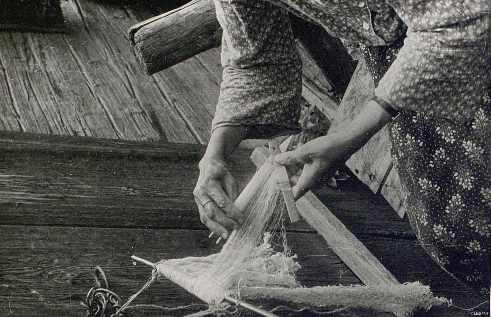 18. Вязание сети