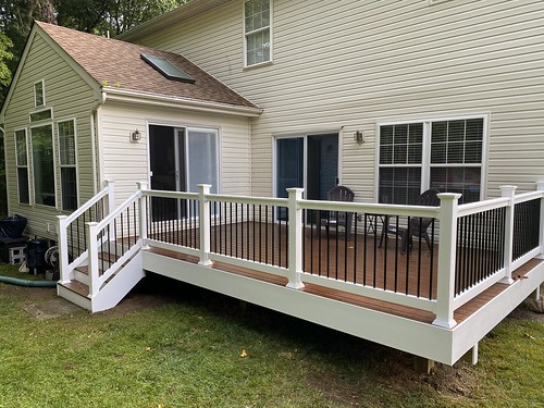 Deck and screen porch | by LongCreekConstruction