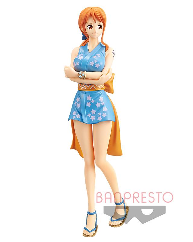 BANPRESTO《ONE PIECE》DXF~THE GRANDLINE LADY~和之國第一彈(ワノ国 vol.1)新手女忍者「娜美子」性感現身!