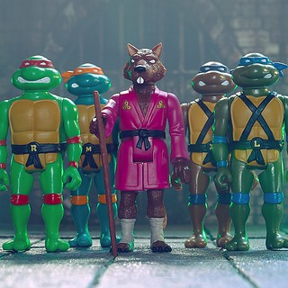 老鼠師父終於現身! Super7 ReAction Figures 系列《忍者龜》Teenage Mutant Ninja Turtles 3.75 吋吊卡玩具第二波